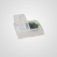 EPCOM903 Porta clip y tarjetero acrilico
